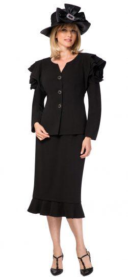 giovanna, black church suit, g1105