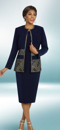 benmarc executive,11837, navy church dress