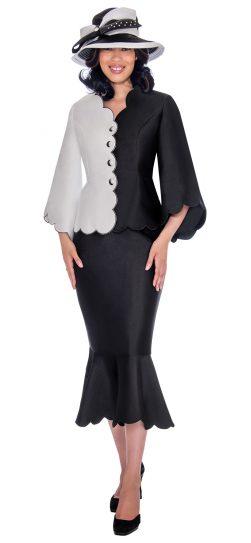gmi, g7472, black-white church suit