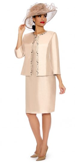 giovanna, 0901, light champagne, jacket dress