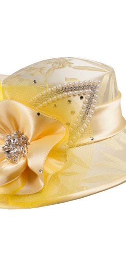 Giovanna, hg1096, yellow church hat