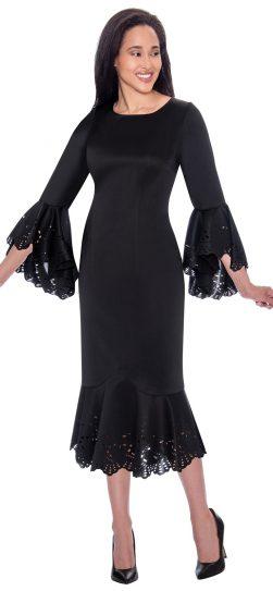 Dressy black dress, Nubiano, dn2631
