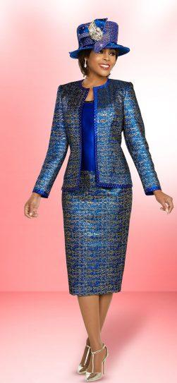 benmarc, 48277, royal skirt suit, plus size royal skirt suit