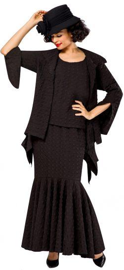 giovanna, 0940, black skirt set
