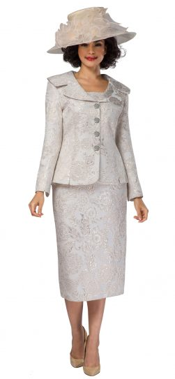 giovanna, g1119, champagne skirt suit