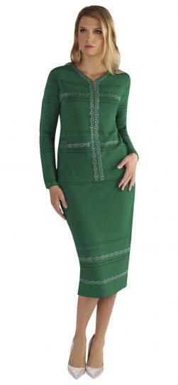 kayla, 5178, knit skirt suit