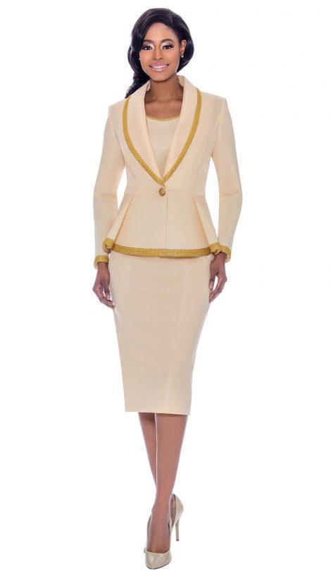 susanna, 3925, cream skirt suit