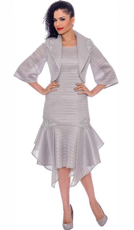 terramina, 7791, dressy silver dress
