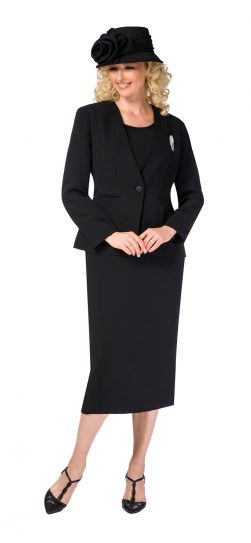 giovanna, 0825, black usher suit