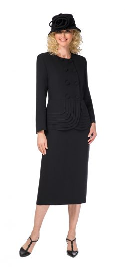 giovanna, 0902, black skirt suit