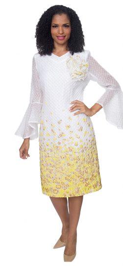 diana, 8503, yellow-white