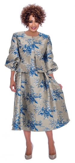 Dorinda clark-come, dcc2252, silver jacket dress