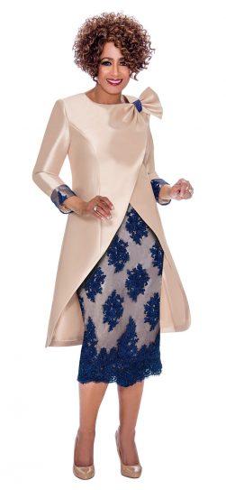 Dorinda clark-come, stunning church dress, dcc2292