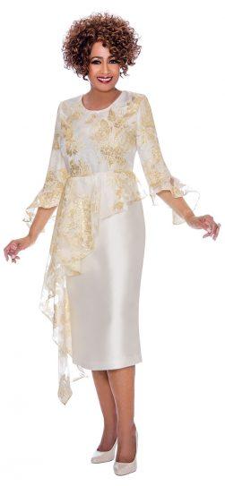 Dorinda clark-come, dressy ivory dress, dcc2331