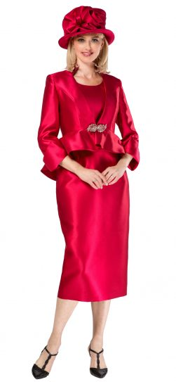 giovanna, g1085, cranberry skirt suit