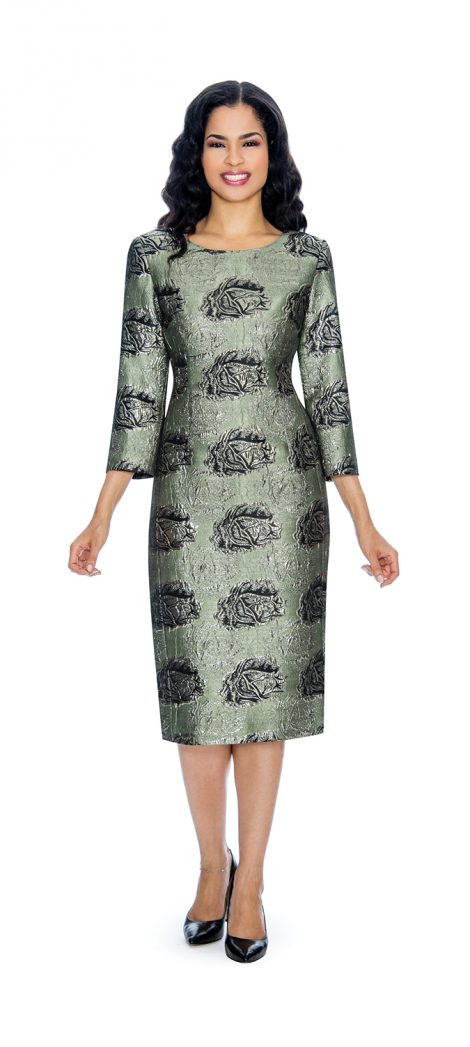 Giovanna, d1506, olive dress