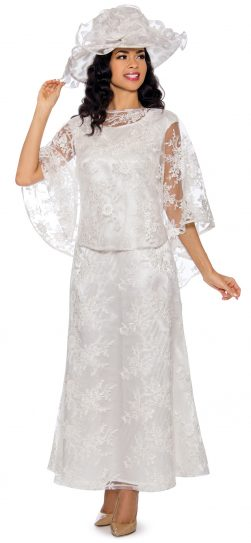 giovanna, d1510, white lace dress