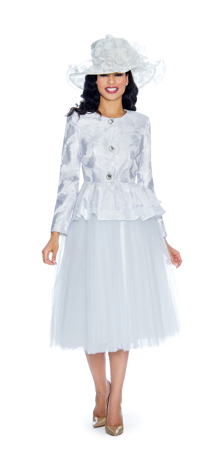 Giovanna, 2 Piece Skirt Suit G1080 (Size 22W, 24W)