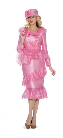 giovanna, g1093, pink church suit, dressy pink skirt suit