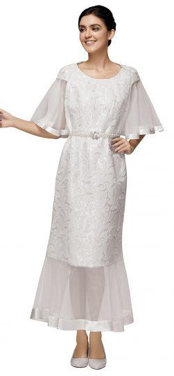 nina nischelle, 2887, off white dress, dressy full length dress