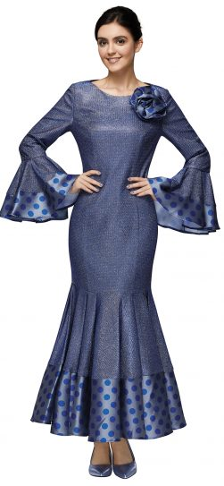 nina nischelle, 2890, long royal blue dressy dress