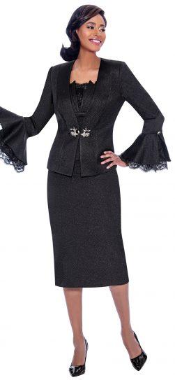 susanna, 3919, dressy black church suit
