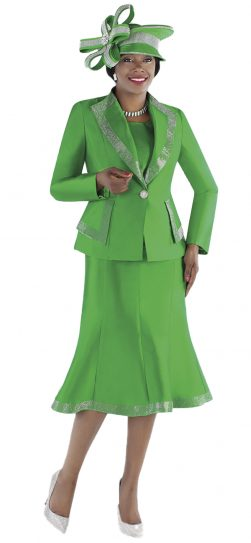 tally taylor, 4697, emerald skirt suit, emerald church suit
