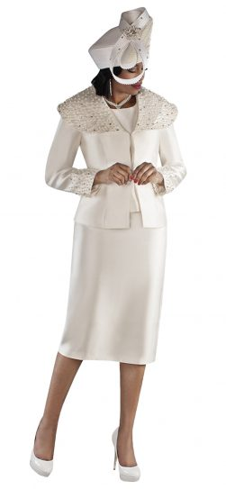 tally tayor, 4701, ivory skirt suit, dressy ivory skirt suit