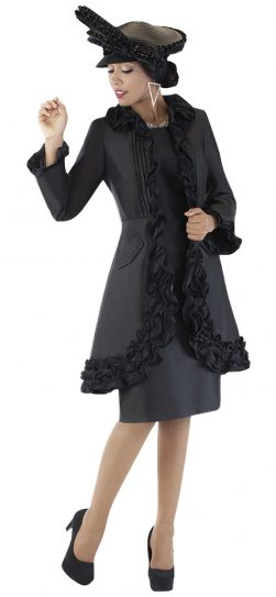 tally taylor, 4702, black dressy dress for church