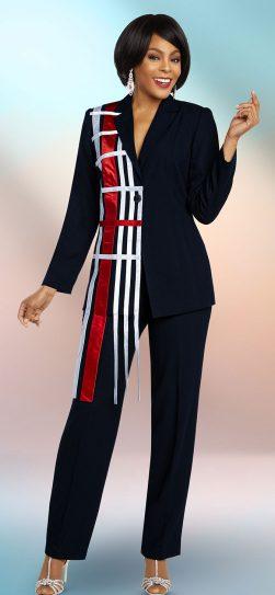 benmarc executive, 11815, navy pant suit