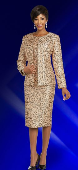 benmarc executive,11841, gold church suit