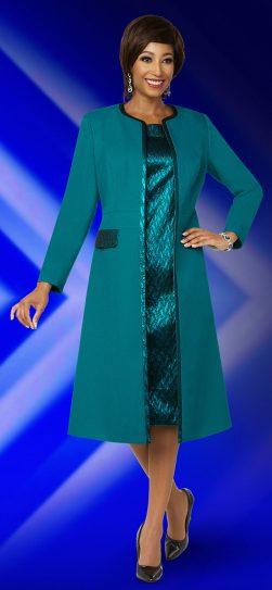 benmarc executive,11844, jade green jacket dress