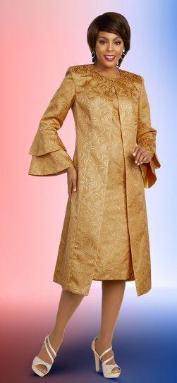 benmarc executive,11847, gold jacket dress