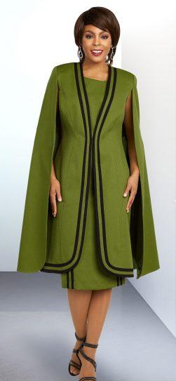 benmarc executive, pea green jacket dress