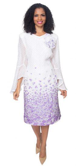 diana, lavender dress, 8503