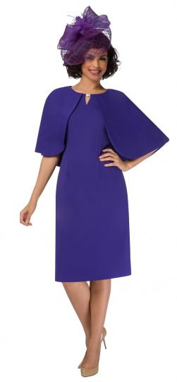 giovanna,d1482, purple cape dress