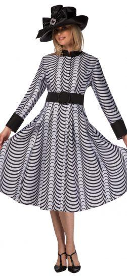 giovanna, d1516, black-white dress