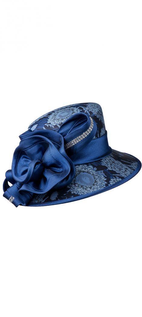 giovanna, h0933, blue church hat
