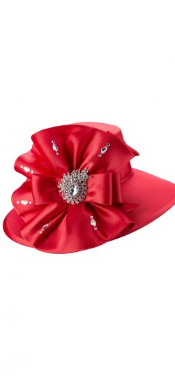 giovanna, hg1108, red church hat
