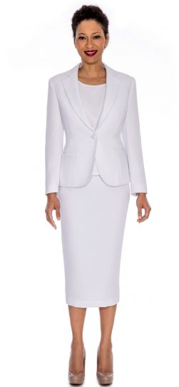 Giovanna, white usher suit, white church suit, 0823