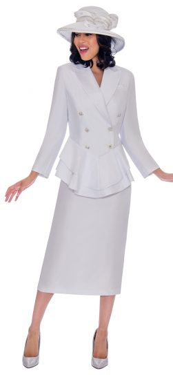 gmi-7612, white church suit