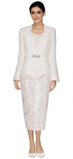 nina massini,2569, ivory church suit