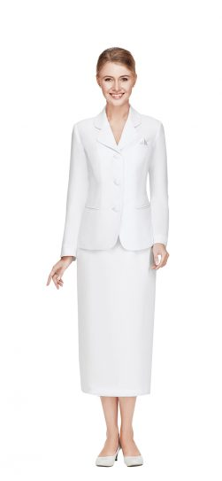 nina massini, skirt suit, 2417