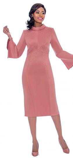 terramina, 1 piece dress, mauve dress, 7776