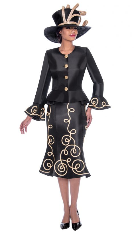 terramina, 7784, black church suit