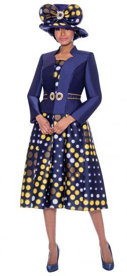 terramina, 7788, blue church dress