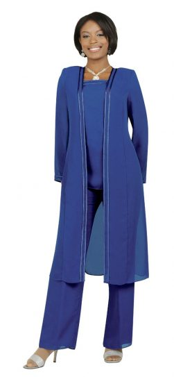 Misty Lane, Pants Suit, Benmarc, Purple, Style 13062