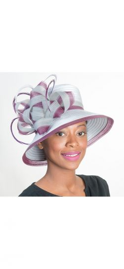 Women's Hat, Church Hat, Satin Ribbon Hat
