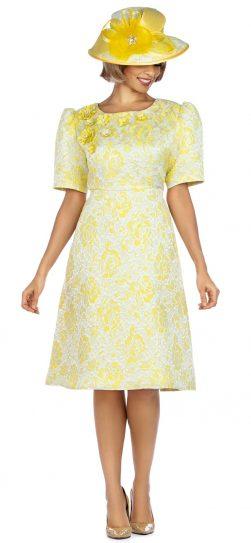 Giovanna, D1524, yellow dress,