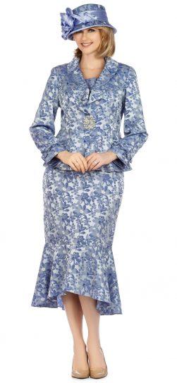giovanna, 0936, blue church suit
